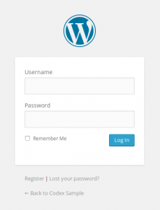 restreindre admin wordpress
